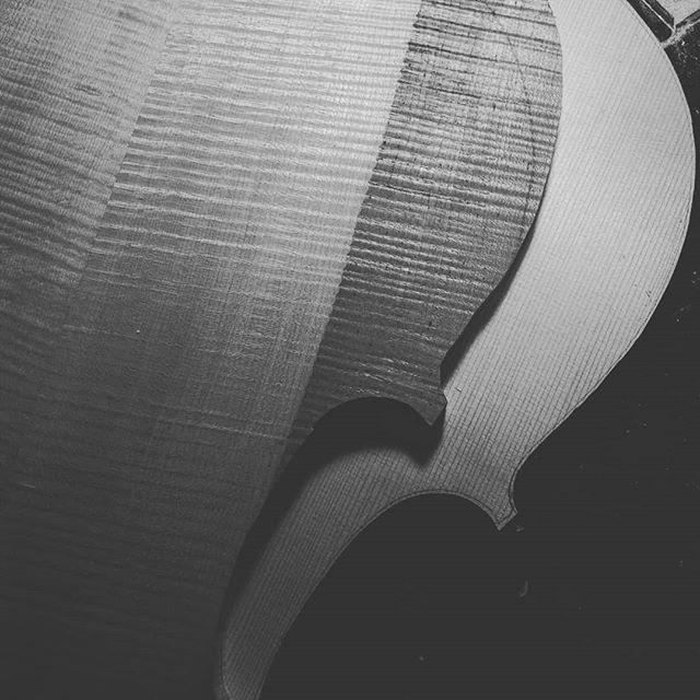 チェロ製作中 表板裏板は矧ぎが終わり荒削りを始める #ヴァイオリン #ヴィオラ #チェロ #コントラバス #沖縄 #那覇 #楽器 #violin #viola #cello #doublebass #クラシック #弦楽器 #弦楽四重奏 #atelierpici